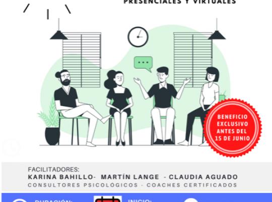 Recursos innovadores para potenciar procesos personales – presenciales y virtuales